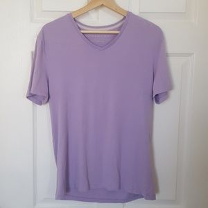Banana Republic Soft Wash V-neck T-shirt Size M
